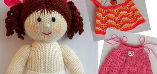 В чем преимущества вязаных кукол