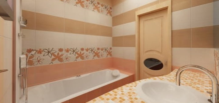 Выбор плитки для малогабаритной ванной комнаты