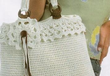 Летняя сумочка крючком. Схема