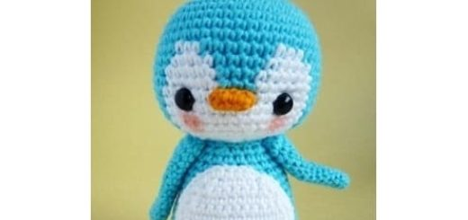 Пингвин крючком. Амигуруми