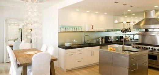 Преимущества кухни-гостиной