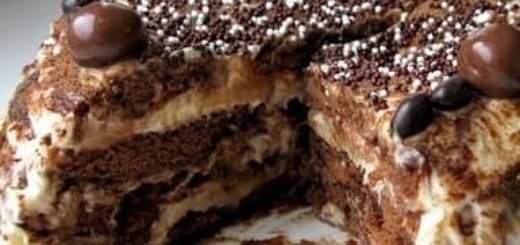 Рецепт без выпечки. Пряничный торт
