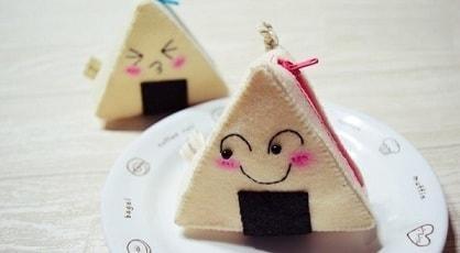 Треугольный кошелек из фетра своими руками