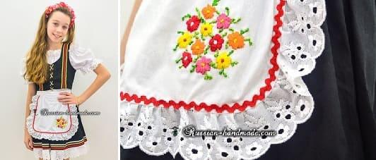 Платье для девочки «Немецкий Октоберфест»