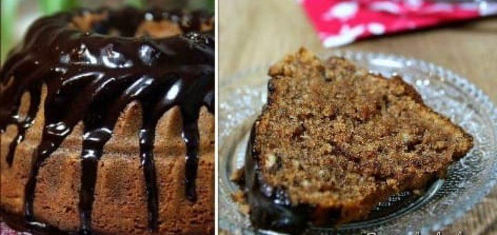 Рецепт орехово-творожного кекса с Нутеллой