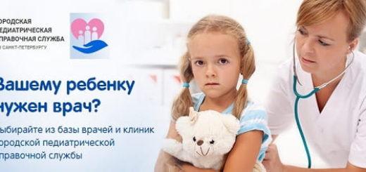 Все детские клиники Санкт-Петербурга на сайте spb.gorps.ru