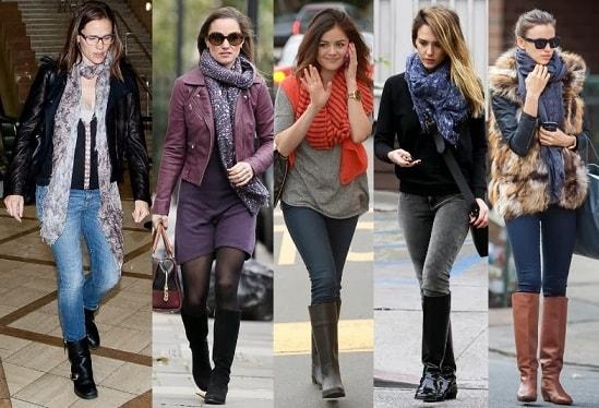Какие женские шарфы в моде (1)