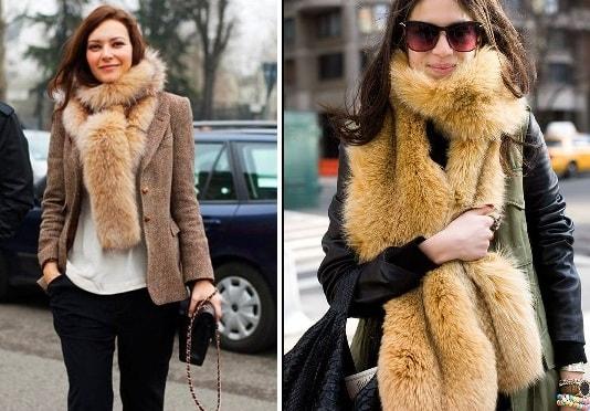 Какие женские шарфы в моде (2)