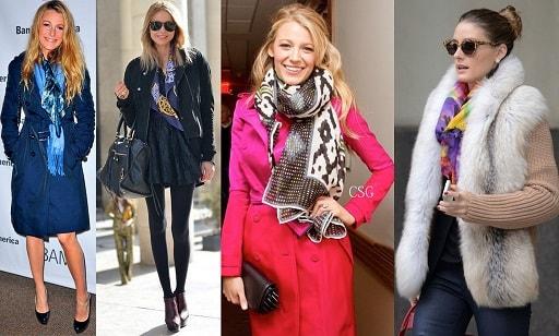 Какие женские шарфы в моде (5)