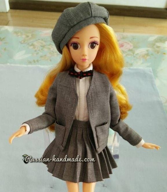 Как сшить берет для куклы. Мастер-класс (5)