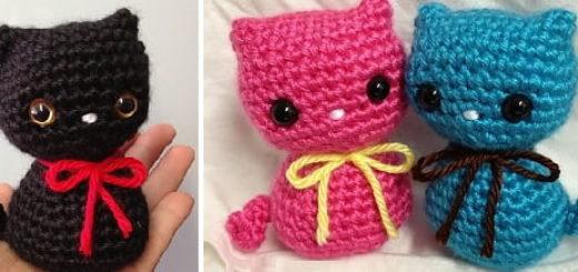 Котенок амигуруми. Описание вязания (2)