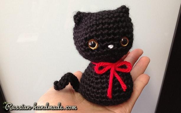 Котенок амигуруми. Описание вязания (3)