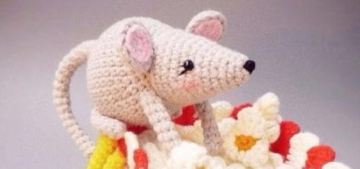 Крыса крючком. Схемы вязания амигуруми (2)