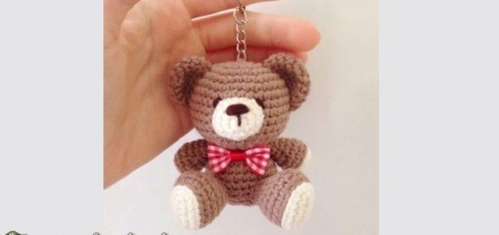 Медвежонок амигуруми. Описание вязания (1)