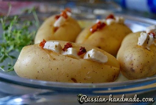 Запеченный молодой картофель в средиземноморском стиле (2)
