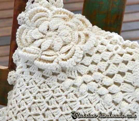 Интерьерная подушка с цветами (2)