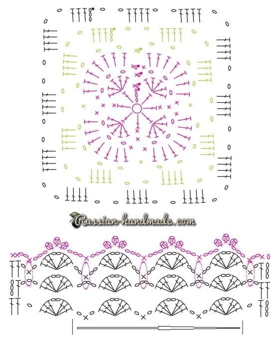 Кайма с розочками для украшения полотенца (1)
