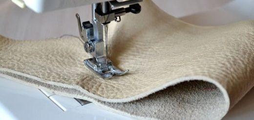 Как выбрать швейную машинку для кожи