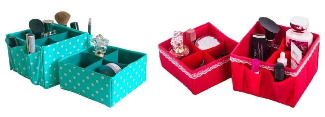 Функциональные коробки для косметики