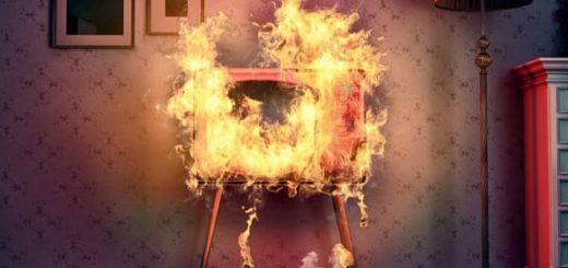 Загорелся телевизор - ваши действия, что делать (2)