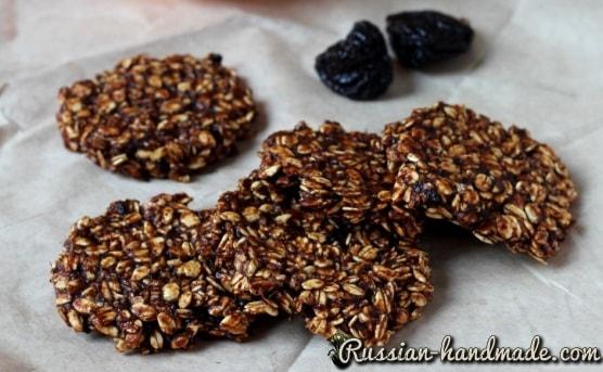 Овсяное печенье с апельсином и черносливом (1)