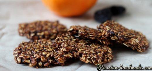 Овсяное печенье с апельсином и черносливом (2)