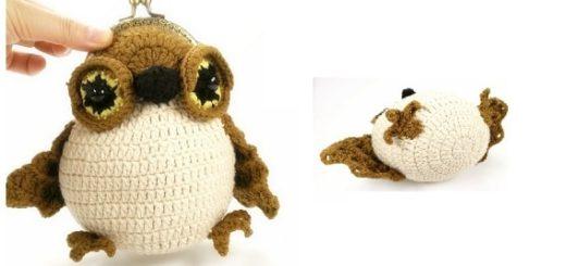 Совенок - детская сумочка крючком (1)