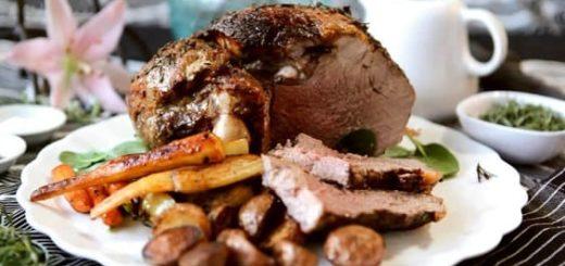 Как готовится свиная и баранья рулька в тандыре, традиционный рецепт (1)