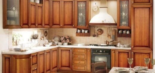 Кухни под дерево - основные преимущества и недостатки (2)
