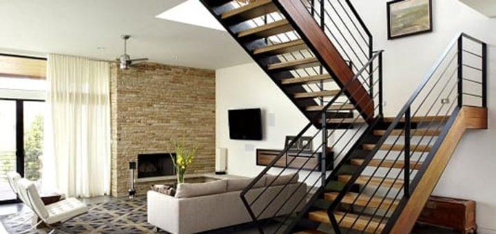 Лестницы в загородном доме (2)