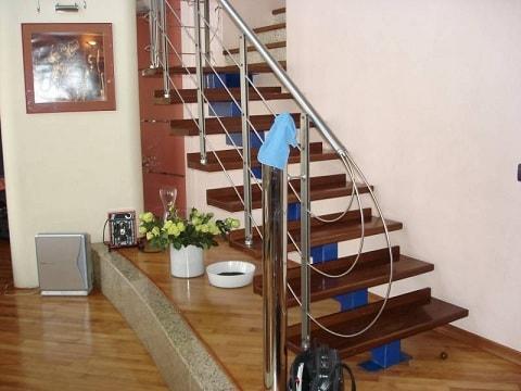 Лестницы в загородном доме (3)
