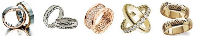 Обручальные кольца – золотые украшения на всю жизнь