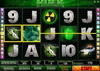 Особенности видеослота Hulk
