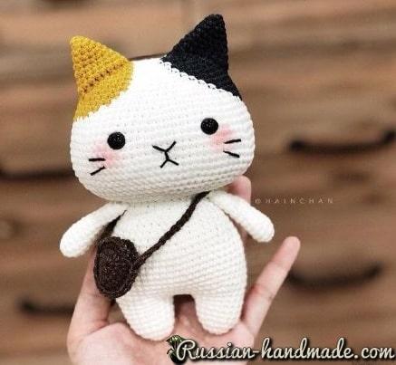 Котенок крючком. Описание вязания (1)