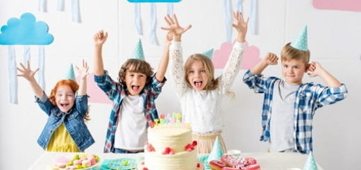 Как оформить праздничный стол на детский день рождения (2)