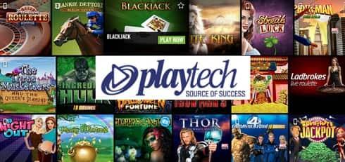 Коллекция слотов от Playtech