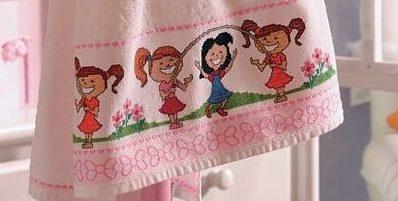 Вышивка для детского банного полотенца (1)